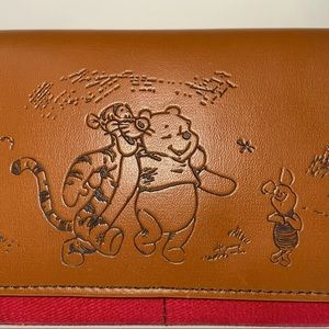 Disney Wallet Bi-fold Faux Leather Winnie the Pooh